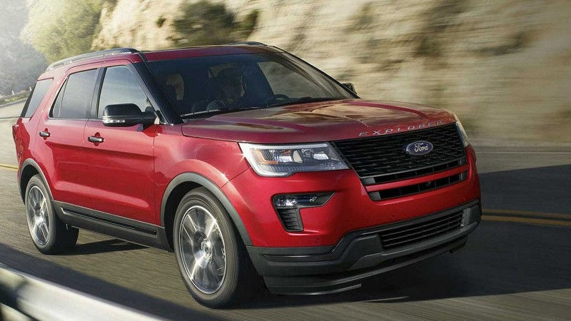 2018 Ford Explorer Ozark Al